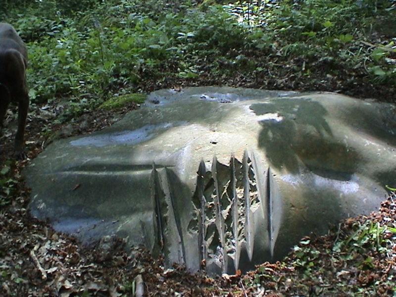 Polissoir néolithique