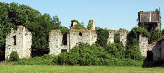Vestiges du château du fresne
