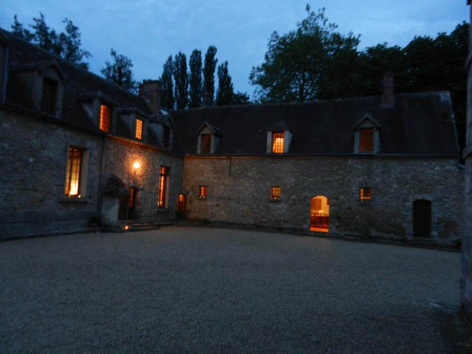 vue du château de nuit