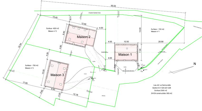 plan de maison urbanisme