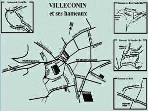 Plan de Villeconin