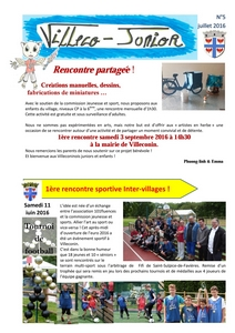 Villeco Junior 5 - juillet 2016